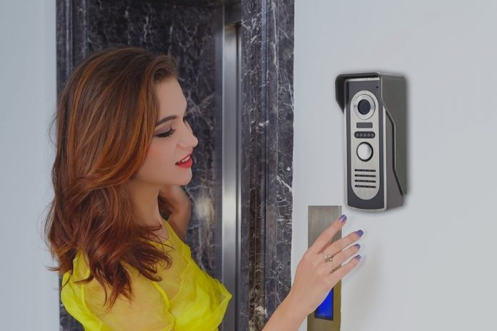 Citofono Esterno Moderno : Elro video citofono con pollici interno monitor apriporta